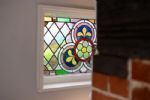 Stained glass feature window