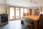View of the dining area in the Kitchen