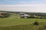 Thumbnail Image - Goodwood racecourse from Trundle Hill