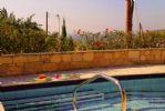 Seating Shelf in Pool