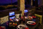 Dine Alfresco at Night