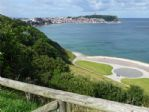 From the Esplanade - over the Star Disk - to Scarborough Foreshore