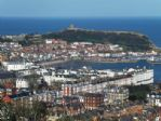 Views of beautiful Scarborough from Olivers Mount.