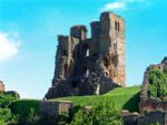 The iconic Scarborough Castle.