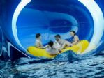 One of the exciting slides at the Water Park.