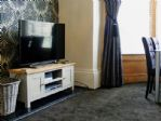 TV with dvd, cd player and free WiFi in the property.