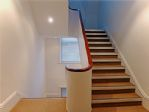 Stairwell area, bright and roomy for guests convenience.