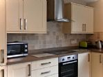 ...microwave, oven, hob and extractor fan