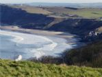 More unrivalled views of Cayton Bay from Knipe Point
