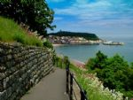 There are convenient and very scenic cliff paths to take you into town or to the beach.