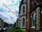 The beautiful period building, location of South Cliff Apartment.