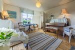 Ground floor: Music room with piano
