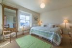 First floor: King-size bedroom