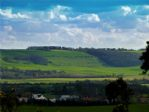 View from front/patio of Yorkshire Wolds and Gristhorpe Village