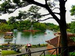 The iconic Peasholm Park, located close by to the property.