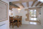 Ground floor:  Dining area leading through to kitchen