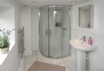 The large en-suite shower room