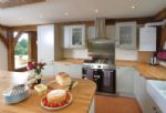 Ground floor:  Kitchen with range cooker