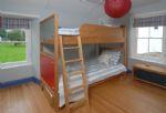 First floor: Bedroom with bunk beds