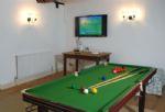 Ground floor:  Pool table