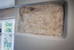 During renovation work fascinating wall drawings were discovered