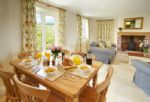 Ground floor:  Open-plan dining and sitting room