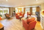 Ground floor: Sitting room with french doors to shared large secluded garden