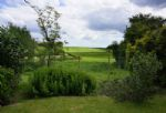 South facing garden stretching out on to open farmland offering lovely views out over fields