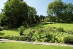 Large one acre lawned orchard garden, ideal for children