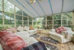 Ground floor: Conservatory with large seating area
