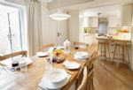 Ground floor: Open plan kitchen and dining area