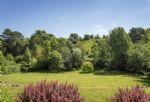 Stunning views surround the garden