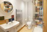 Ground floor: Shower room with walk-in shower