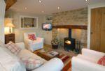 Ground floor: Cosy open fire and underfloor heating