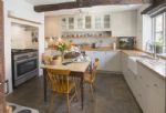 Ground floor:  Well equipped, large kitchen
