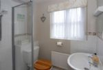 A view of the en-suite Shower Room