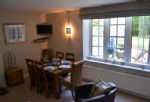 An aspect of the dining area