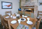 Ground Floor: the dining area of the Kitchen