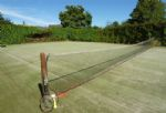 The tennis court (please bring your own racquets and balls)