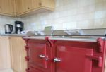 A view of the Aga