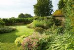 The beautiful garden is just the place to enjoy the views