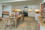 Watery park Barn Ground floor: Large kitchen with breakfast area