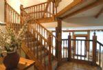 Watery Park Barn: Impressive stairway