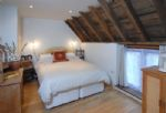 Watery Park Barn First floor: Bedroom three with double bed