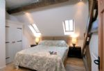 Watery Park Barn Second floor: Bedroom five with king-size bed which can also be made into two singles