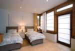 Watery Park Barn Ground floor Annexe:  Bedroom seven which can either be made up as two singles or a king-size bed