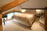 Watery Park Barn Second floor Annexe: Bedroom six with double bed