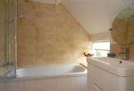 Hiron's Piece First floor: En-suite bathroom to bedroom four