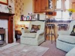 There's an open plan living space - great for socialising ...