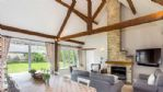 Dancers Cottage Lounge and Fire Place - StayCotswold